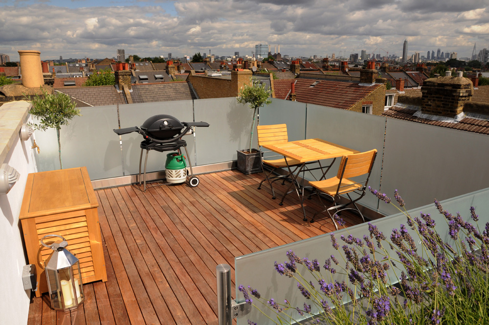 Roof Terrace Conversion London The Roof Terrace With London