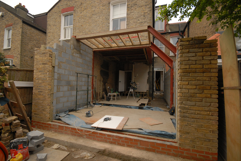 Pinnacle building projects kitchen extension side for Www the house com returns