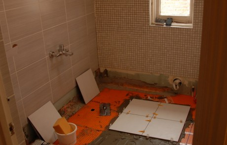 Before image from the Bathroom and brickwork repairs project