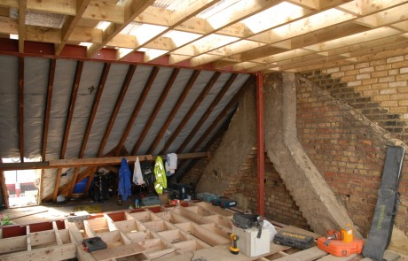 Before image from the London Loft Conversion project