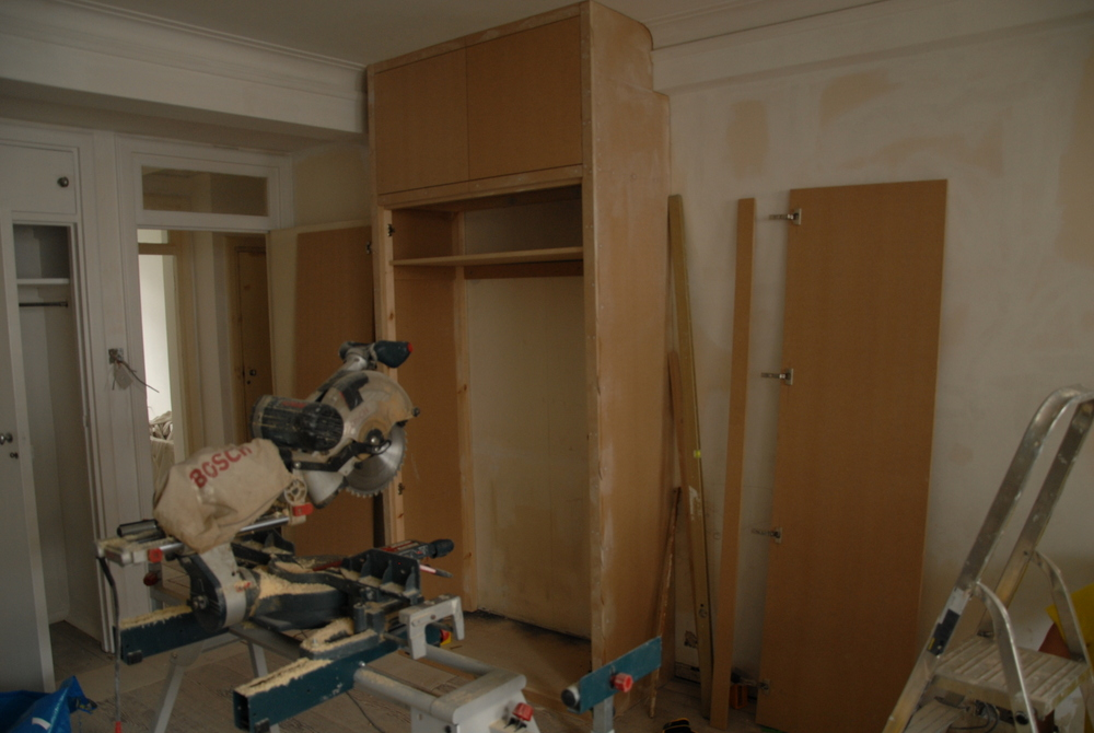 how to cut mdf shelving
