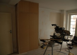 MDF cupboards