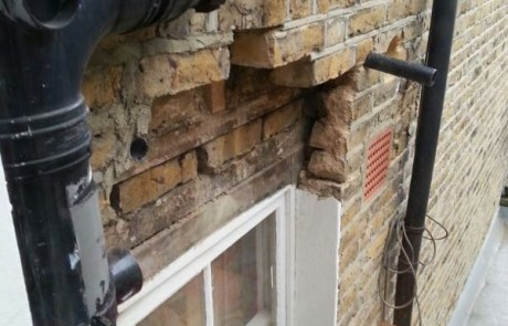 Additional image from the Bathroom and brickwork repairs project