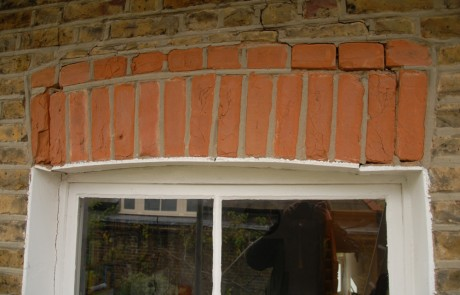 Before image from the Brickwork and pointing repairs project