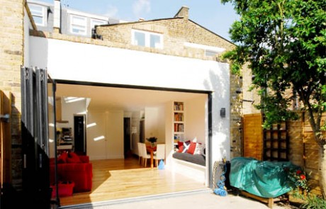 After image from the New kitchen extension in Fulham project