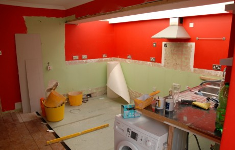 Before image from the Kitchen and bathroom in Balham project