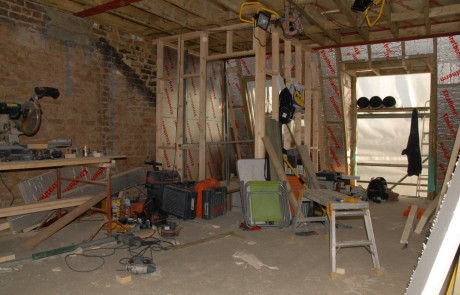 Before image from the Loft Conversion in Wandsworth project
