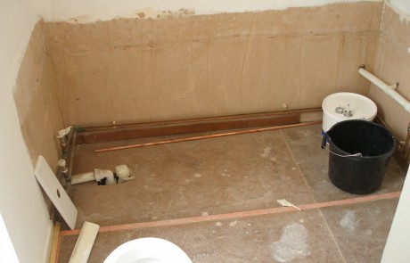 Before image from the Bathrooms in Wimbledon project