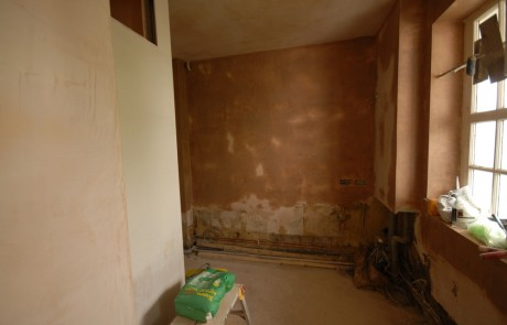Before image from the Kitchen and bathroom in SW1 project