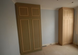 Some more bespoke MDF wardrobes / cupboards in one of the bedrooms