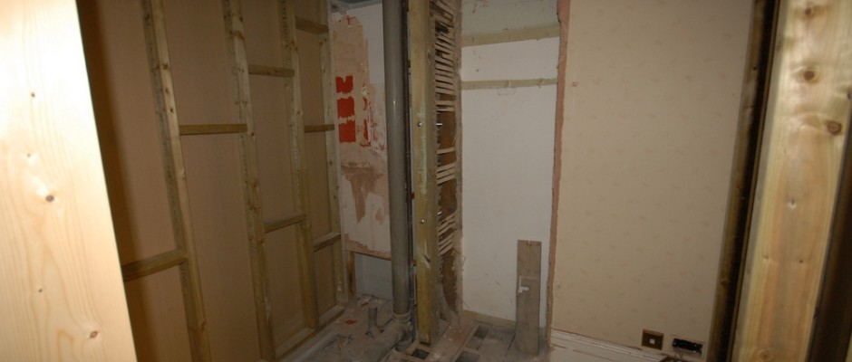 This is where the new bathroom will go!