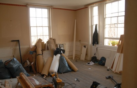 Before image from the Refurbishment project in Pimlico project
