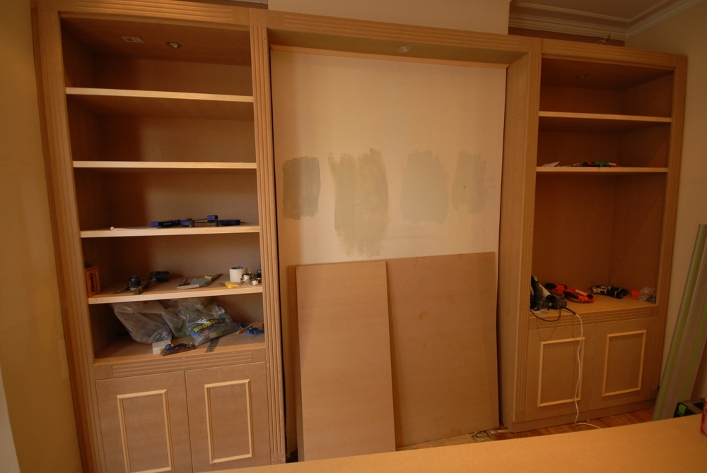 Pinnacle Renovation Projects – MDF shaker style wardrobes and cupboards