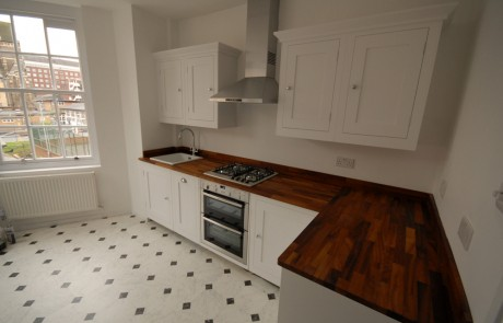 The completed Harvey Jones kitchen