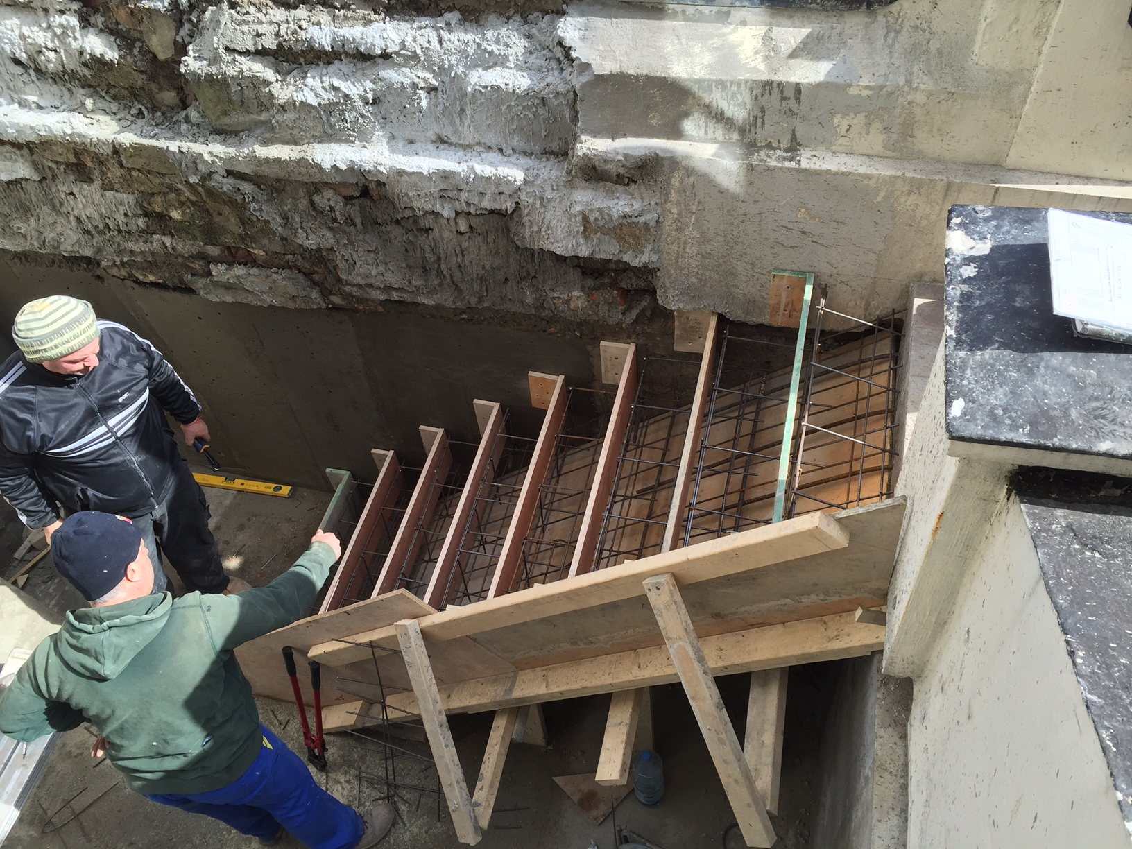 Pinnacle renovation projects building concrete steps for Steps to building a house from the ground up