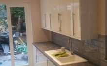 Another view of this new kitchen on this Colliers Wood project...